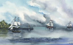Tall Ships <br> 25 x 14